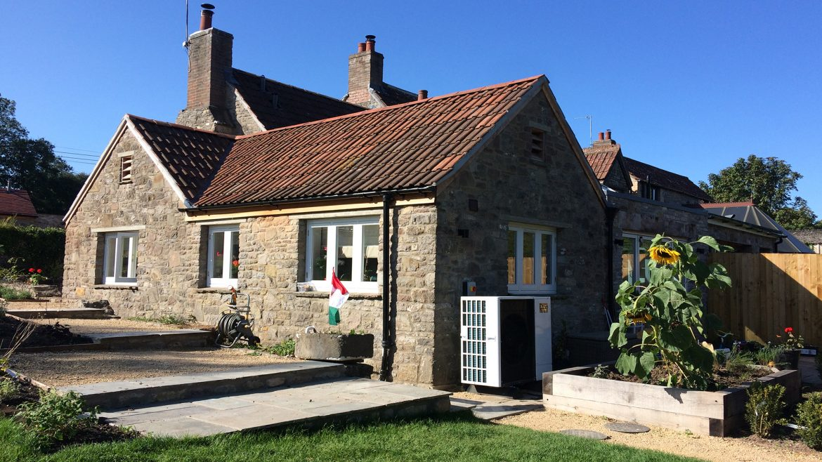 Cottage Renovation - Air Source Heat Pump and Underfloor Heating by Abode